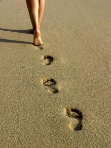 pies y arena